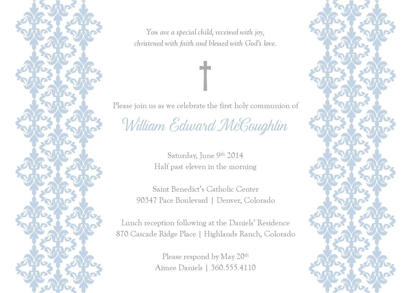 Free Templates for Baptism Invitations Baptism Invitation Template Baptism Invitation Blank