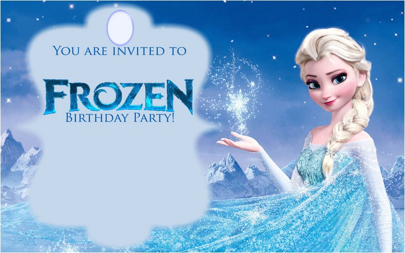 free printable frozen invitations