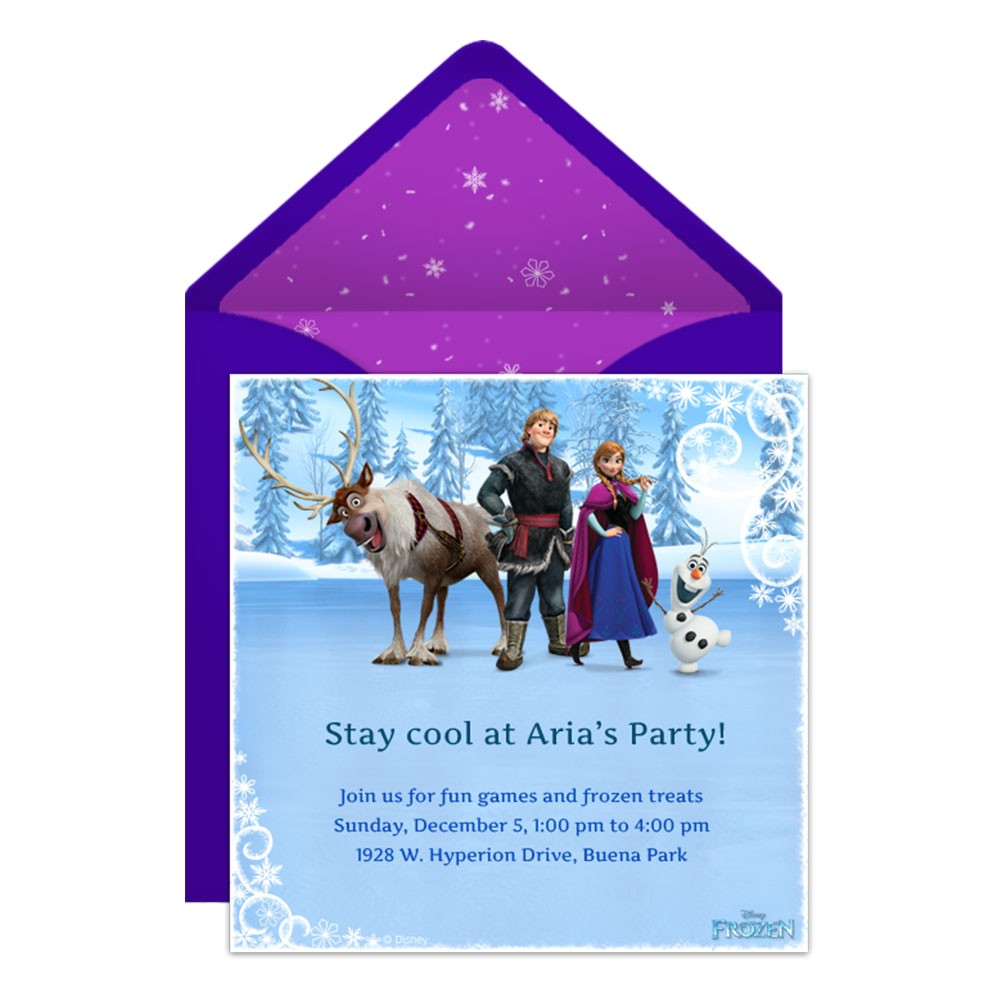 electronic party invitations