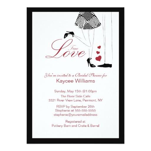 fun true love bridal shower invitation 161649327696304263