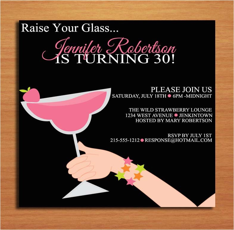 funny 30th birthday invitation wording