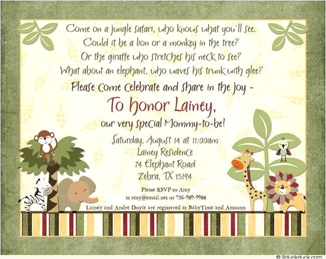 funny baby shower invitation wording ideas
