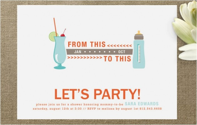 funny baby shower invitations make laugh