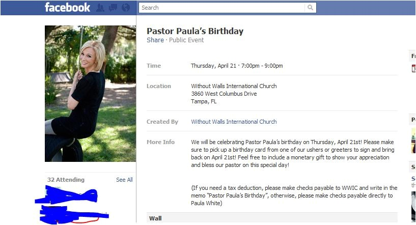 birthday invitation via