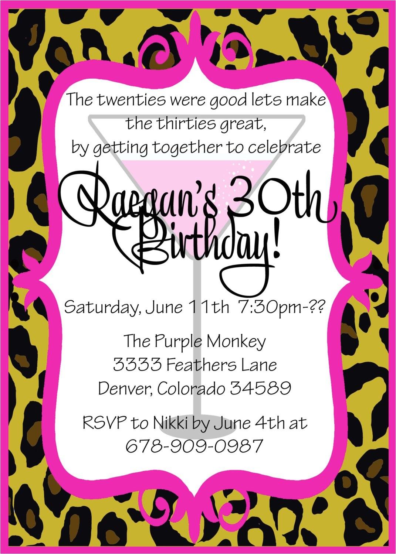 funny birthday invitation wording