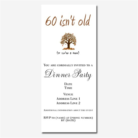 funny 60th birthday invitations