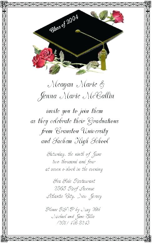 graduation invitation wording graduation party invitation wording wordings and messages samples of graduation party invitations graduation invitation wording in spanish
