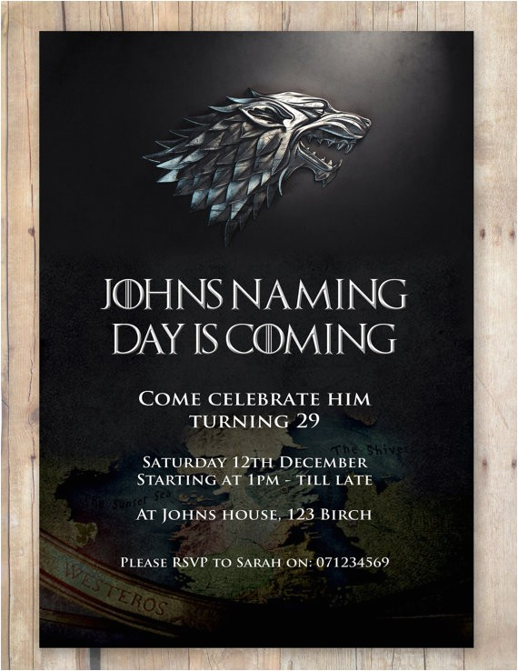 game of thrones themed party invitation utm medium=product listing promoted&utm source=bing&utm campaign=children