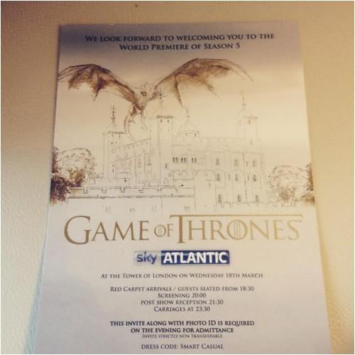 game of thrones season five premiere Mar2015