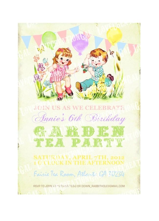 garden tea parties