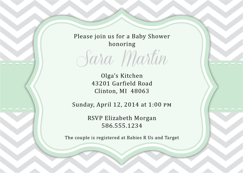 gender neutral baby shower invitation wording ideas