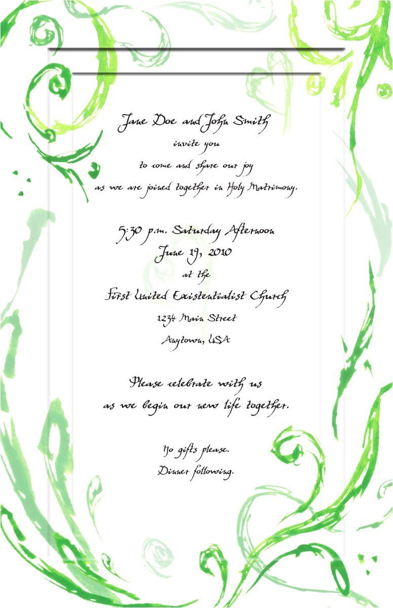 wedding invitations a fine art custom paintings