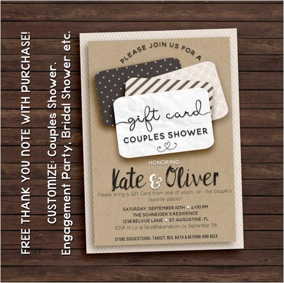 t card shower invitation