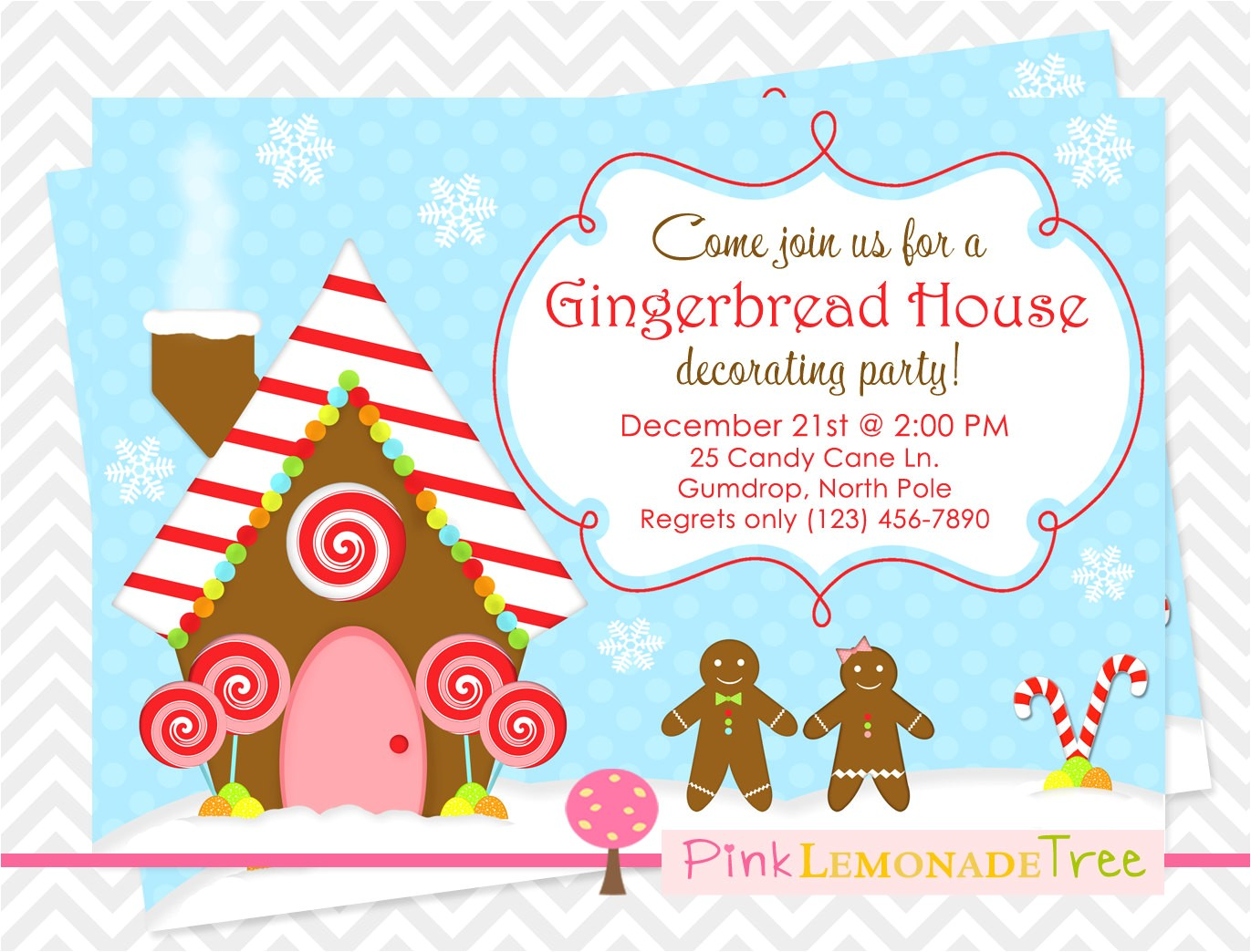 gingerbread house christmas party
