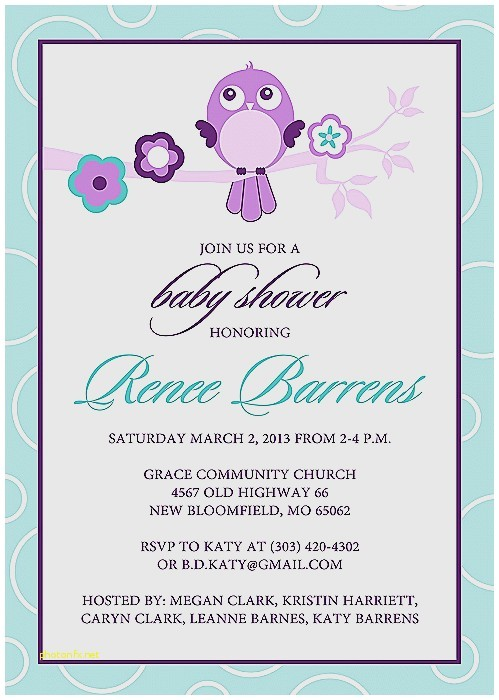 giraffe baby shower invitations template
