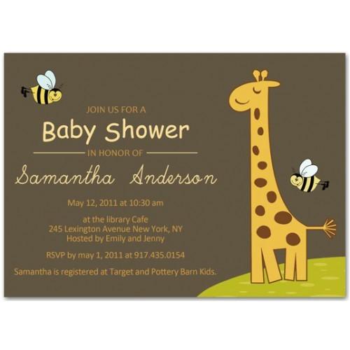 giraffe baby shower ideas inspiration board b