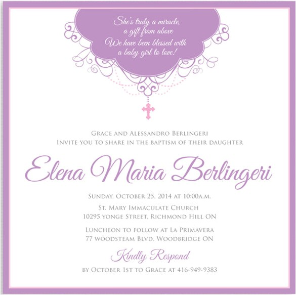 printable baptism invitations