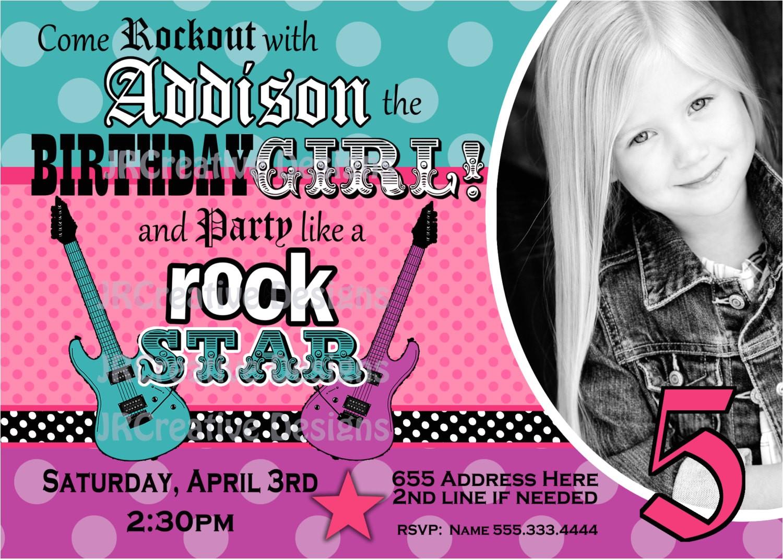rock star invite girl rockstar invite