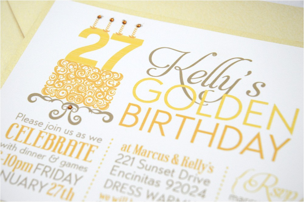 golden birthday invitations by means of creating magnificent outlooks around your birthday invitation templates 12