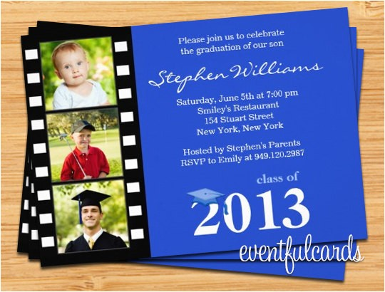 class graduation invitation photo card print 15
