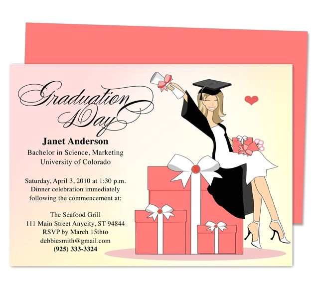 printable diy graduation announcements templates
