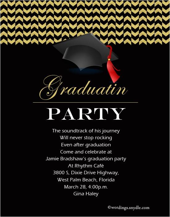 graduation party invitation wording mh comments