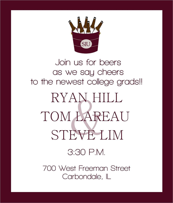invitation for graduation party