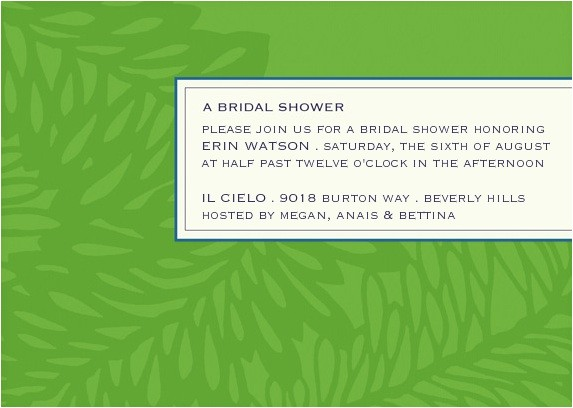 wedding bridal shower invitations ideas wording