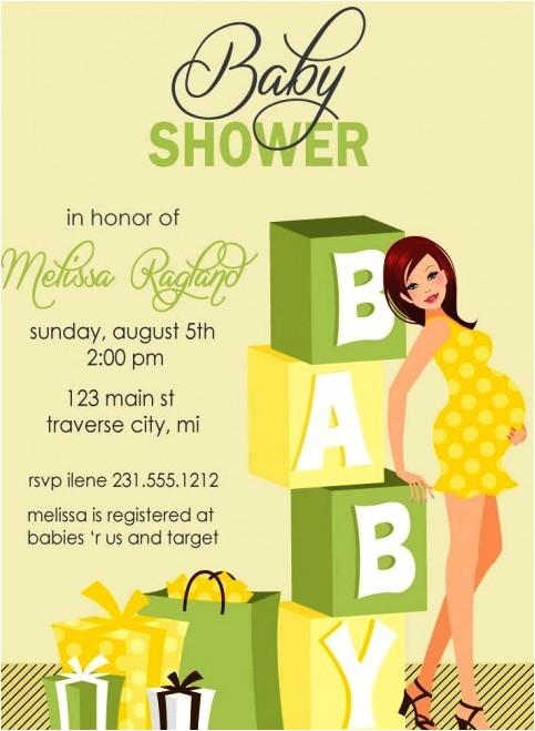 best hallmark baby shower invitations