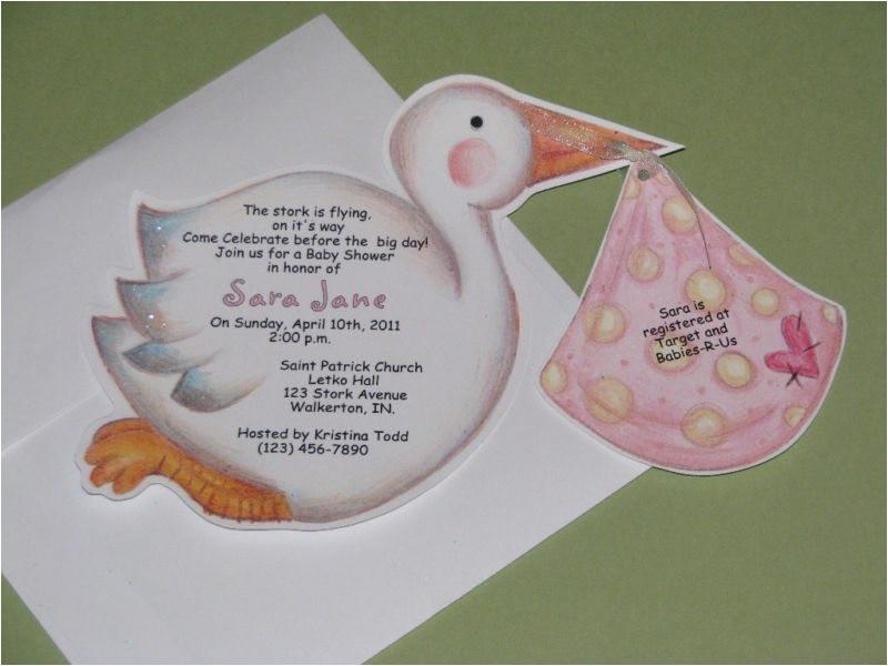 hallmark baby shower invitations