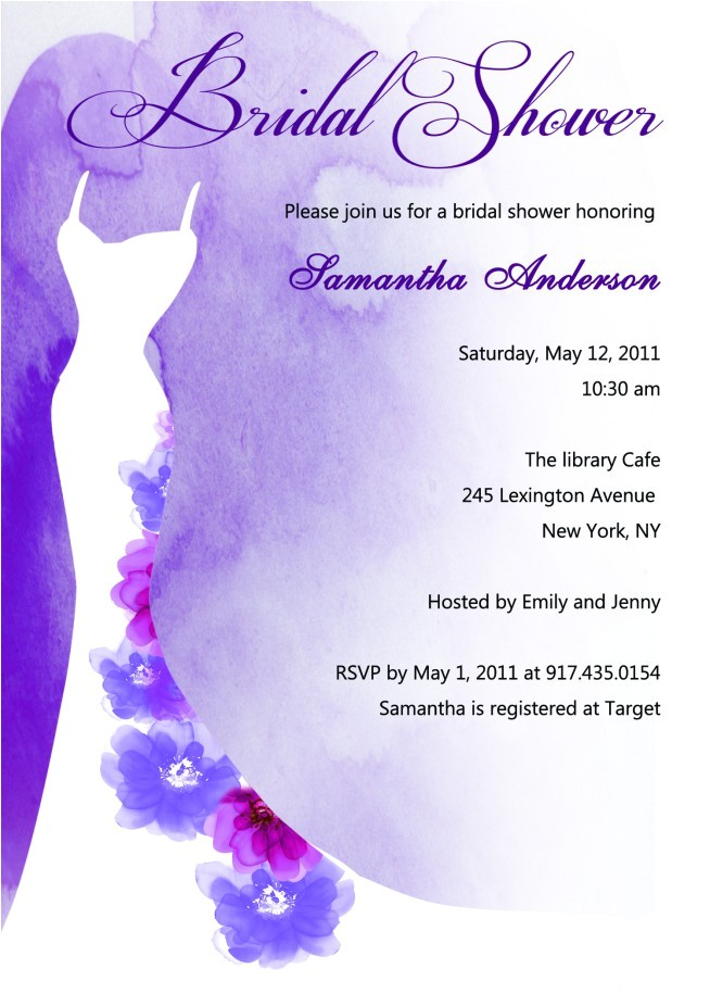 bridal shower invitations at hallmark