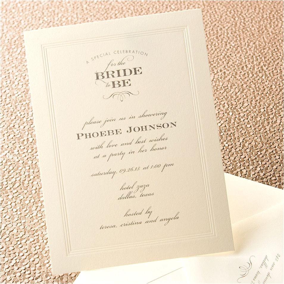 hallmark bridal shower invitations