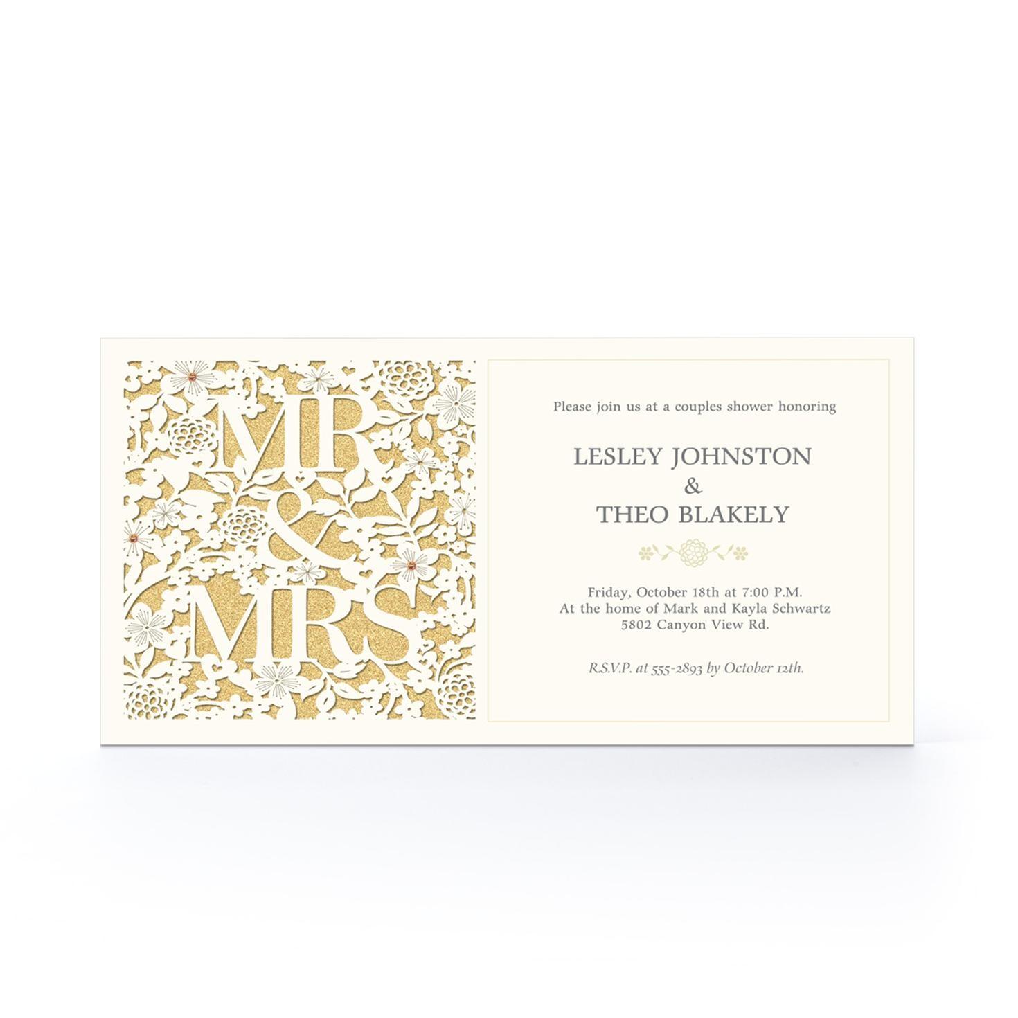 hallmark wedding shower invitations