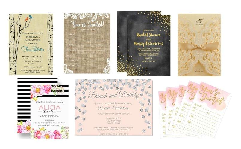 bridal shower invitations by hallmark