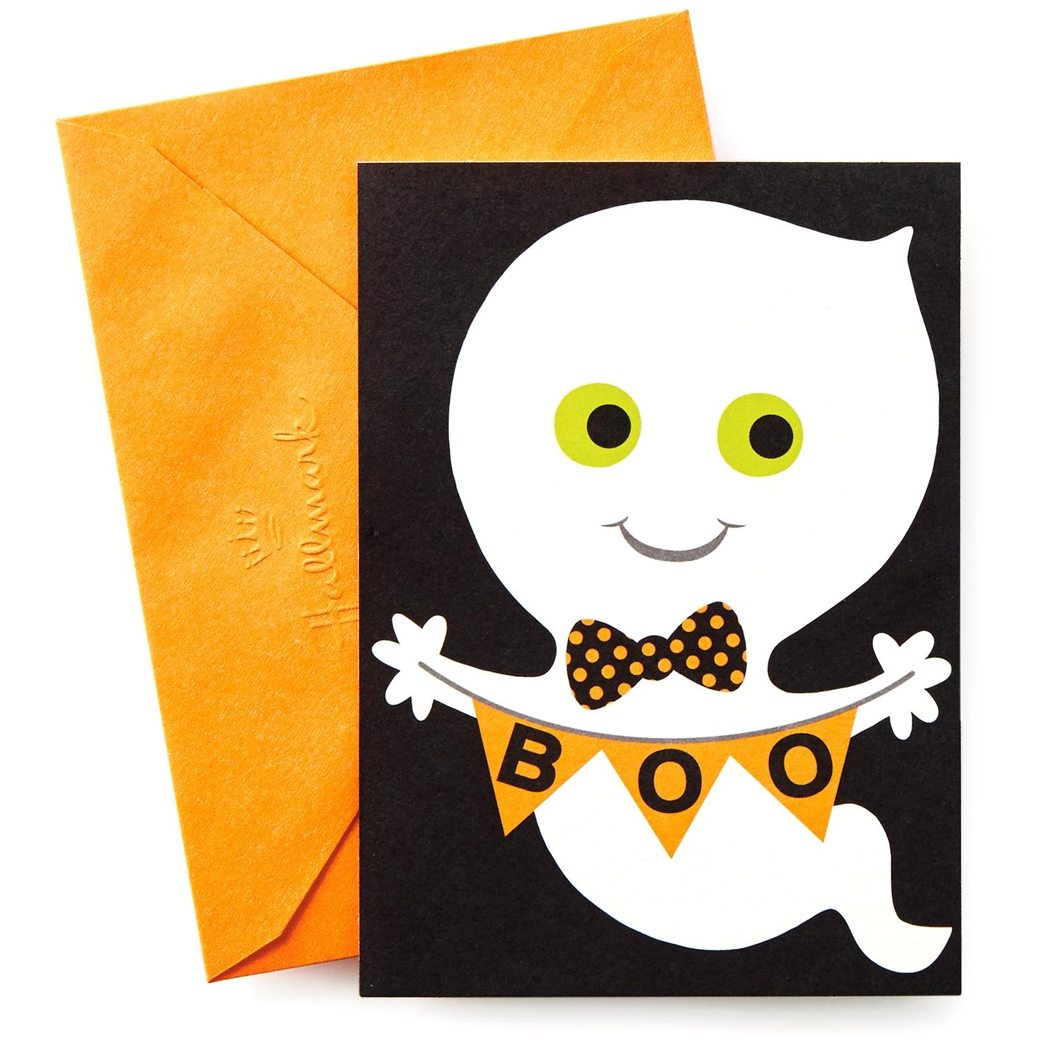 boo ghost halloween party invitations 10 349hvn3534