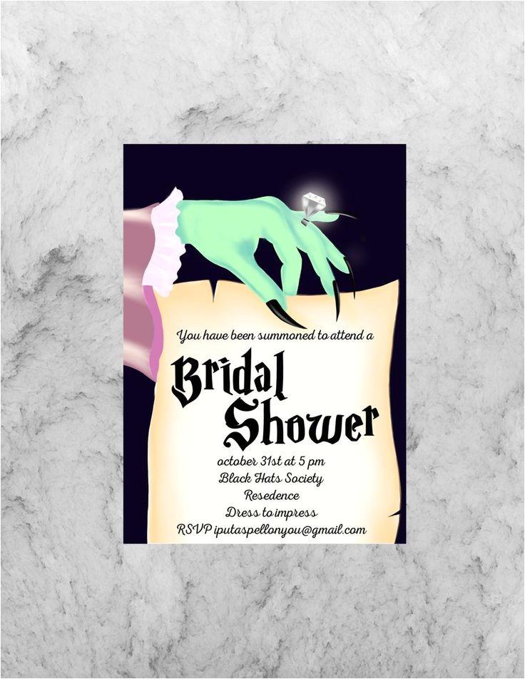 halloween bridal showers