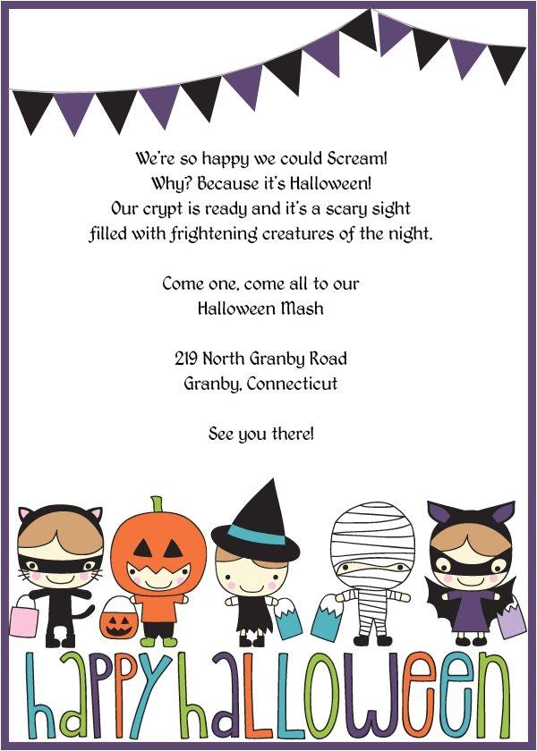 halloween invitations kids