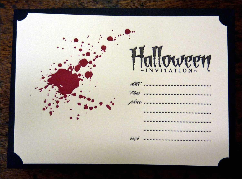 halloween invitation ideas template