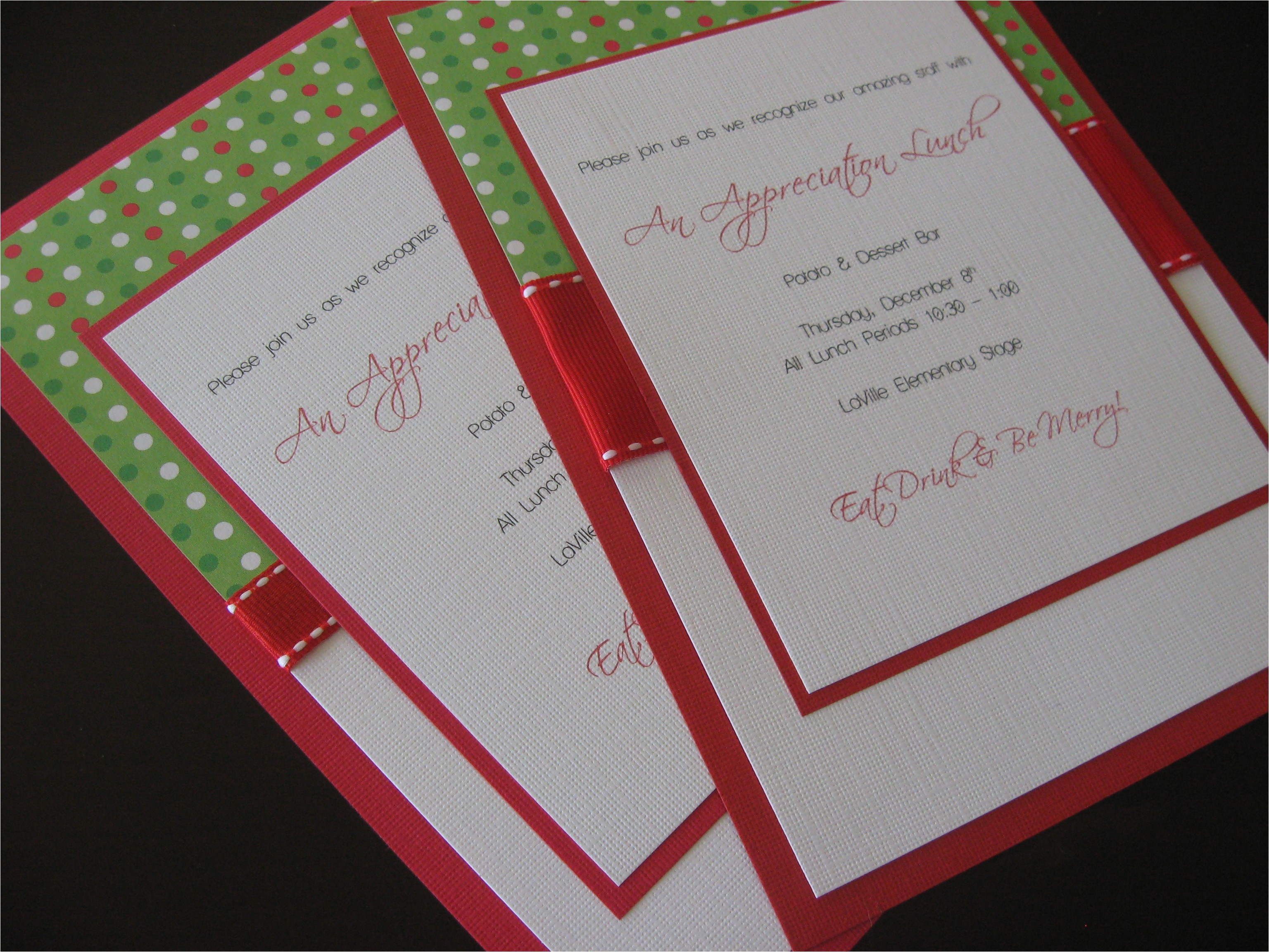 handmade party invitations