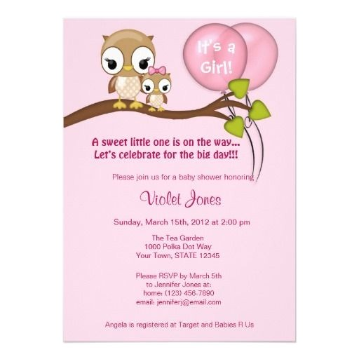 happi tree baby shower invitations