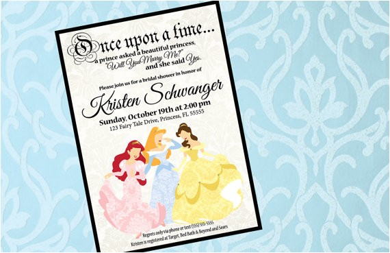 custom invitation happily ever after