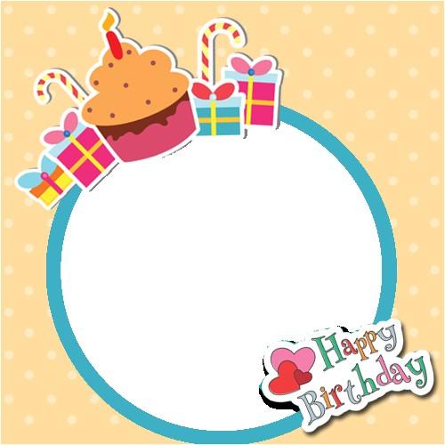 happy birthday frames photo frames birthday greeting cards
