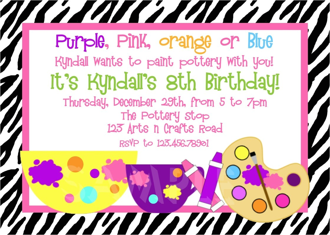 10th birthday party invitation wording samples