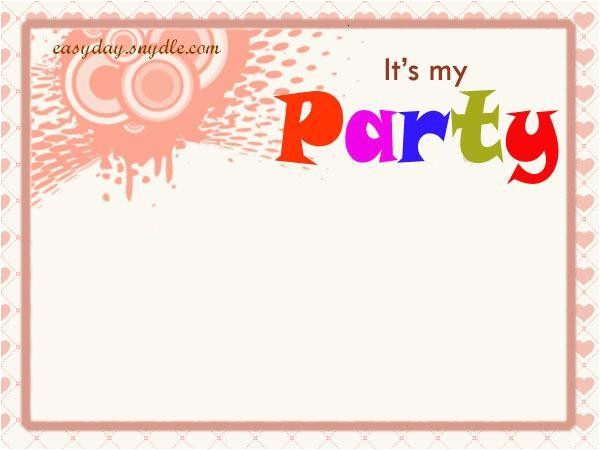 Happy Birthday Invitation Quotes Birthday Invitation Wording Easyday