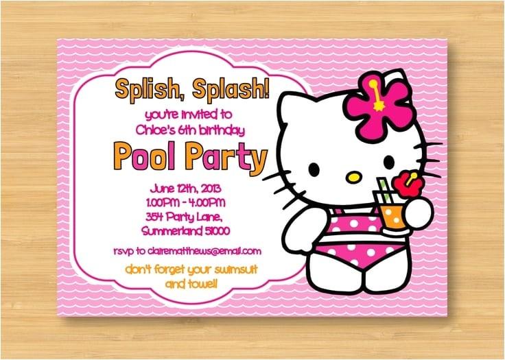img0079 popscreencdn hello kitty zebra photo birthday party invitations ebay