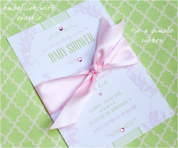 top 10 high end baby shower invitations