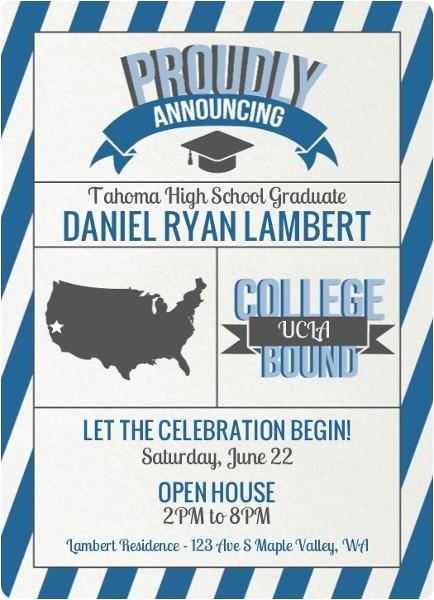 High School Graduation Party Invitation Etiquette Graduation Announcement Etiquette How to Send Address