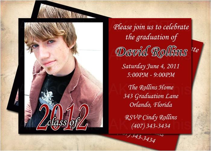graduation announcement grad party