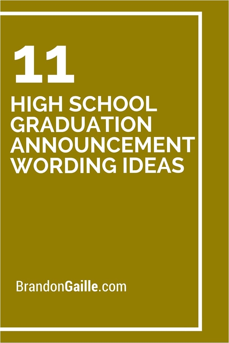 high school graduation party invitation wording samples
