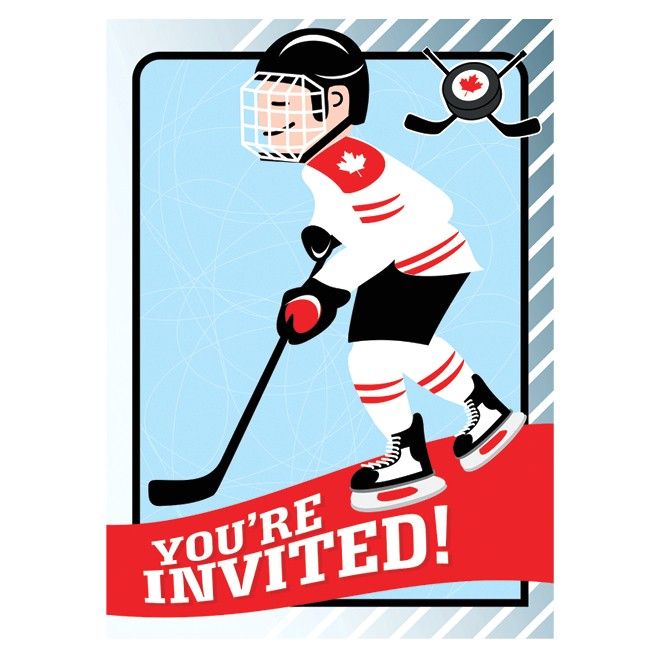 how to throw a hockey themed party